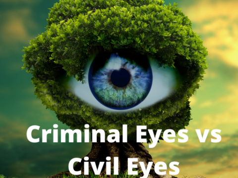 Criminal Eyes and Civil Eyes